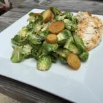 Brussel Sprout Ceaser Salad