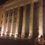 Beautiful Panthenon by night