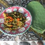 La marina- insalata di pale di fico d'india