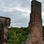 Rosslyn Castle - a ruin now that must have been grand