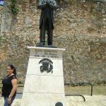 estatua del museo de la casa de diego colon sto domingo