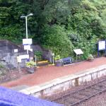 station at the bottom