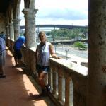 vista desde uno de los balcones de diego colon