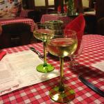 eclectic wine glasses