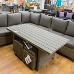 An outdoor furniture suite at Stewarts Christchurch