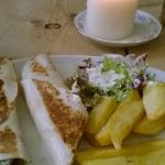 the fish finger wrap