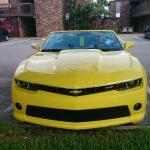Upgraded car rental