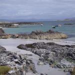 beach where ferry drops of