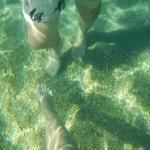 пляж , прозрачная вода, дно