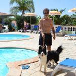 il nostro Argo in piscina