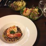La Prudencia - Chickpea salad and risotto
