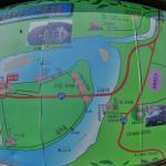 芭蕉乗船の地 最上川 本合海周辺地図