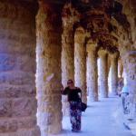 A beleza das colunas de pedra