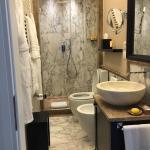 La stanza d'albergo - Il bagno