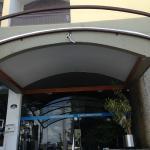 Entrada do hotel