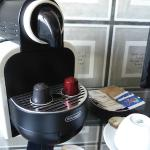 Coffee maker in room