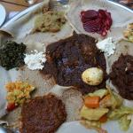 typical Ethiopian food
