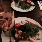 Rib Eye and Surf & Turf with Chimichurri sauce