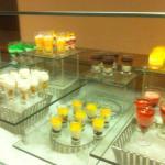 Teil des Dessertbuffets
