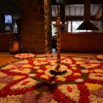 Onam decoration at The Carlton hotel