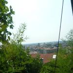 Vista de la Cita Baja desde el funicular a Cita Alta