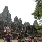 Bayon Temple one of the temples in this site