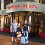 Our fantastic stay at The Crowne Plaza!