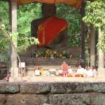 Buddha situated within the site