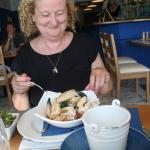 Crab claws for lunch