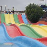 Rainbow slide!