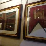 Bandera inglesa y banderola española
