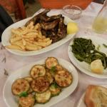 Agnello e zucchine