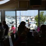 La vue sur le port