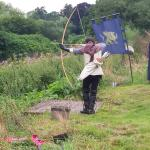 Archery display - excellent start to the day