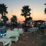 Pool bar near beach
