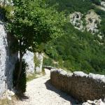 Chemin des muletiers.Col du Rousset