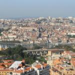 vue depuis la chambre coté Douro