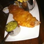 Fish, Chips and Mushy Peas with Tartar Sauce