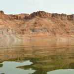 Lake Powell water reflection