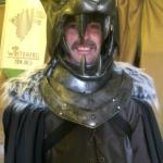 The actual Hound's helmet!