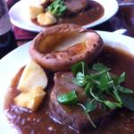Roast Beef & Yorkshire - gorgeous !!