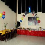 Sala feste festa bambini