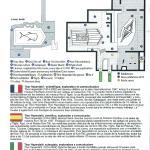 Plano y descripción del museo