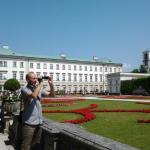 Giardini e veduta del Palazzo