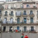 Palazzo tipico in città....