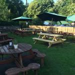Lovely large beer garden