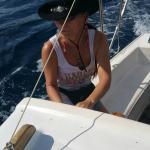 Ich steuer das Boot