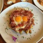 Uova con Speck e Patate