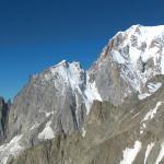 Monte Bianco, Aiguille Blanche e Aiguille Noire de Puterey