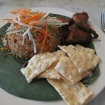 Nasi Lemak with Coconut Rice